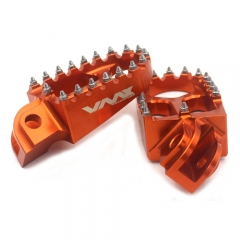 KTM FOOT PEG RESTS FOOTPEGS FOOTREST XC-W SXF EXC-R EXC-F 125 530 ORANGE